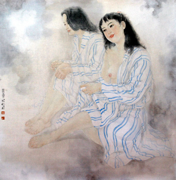 沐云系列之三 Bathing in Cloud(no.3)
