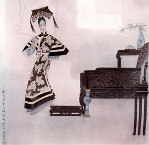 100 Pictures of Chinese Empresses and Imperial Consorts 026